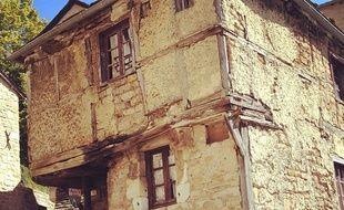 La maison de Jeanne, l'une des plus vieilles maisons de l'Aveyron.