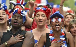La fan zone toulousaine lors de l'Euro 2016.