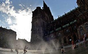 Comme une grande partie de la France, Strasbourg va connaître un grand soleil jusqu'à la fin de la semaine.