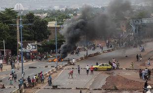 Des manifestations contre le gouvernement, à Bamako le 10 juillet 2020.