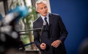 Bruno Le Maire, mlinistre de l'Economie, le 23 mai 2019.
