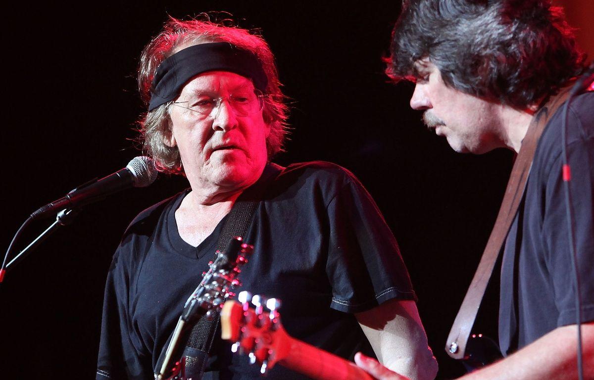 Paul Kantner, guitariste du groupe Jefferson Airplane (gauche), en 2009.  – M.TAMA/GETTY IMAGES NORTH AMERICA / AFP