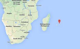 Capture d'écran de l'île Maurice.