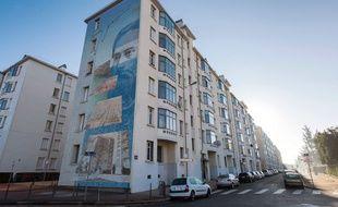 Une femme et ses quatre enfants ont été trouvés morts dans cet immeuble de Lyon, le 5 décembre 2015.