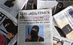 Des journaux britanniques montrent en une la photo de