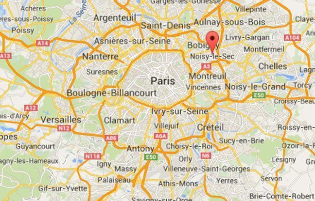 Google Maps de Noisy-le-Sec (Seine-Saint-Denis).
