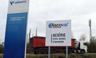 L'aciérie Ascoval, à Saint-Saulve (Nord).