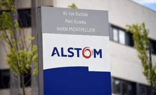 Un site d'Alstom à Montpellier, le 2 mai 2014