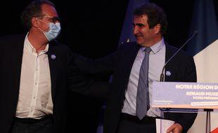 Le patron des LR est venu en meeting dans le Var soutenir le candidat Renaud Muselier aux régionales
