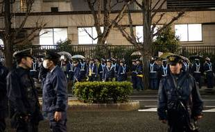 Environ 6.600 policiers japonais sont mobilisés pour retrouver un voleur qui s'est échappé de prison et est en cavale depuis le 8avril 2018