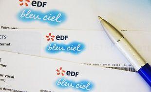 Facture d'électricité EDF (illustration).