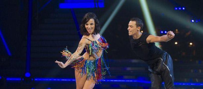 La chanteuse Alizée dans l'émission «Danse avec les stars».