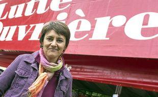 Nathalie Arthaud, porte-parole de Lutte ouvrière,  «Lutte Ouvrière», le 18 mai 2013.