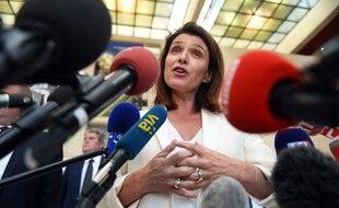 Christelle Morancais salue sa victoire