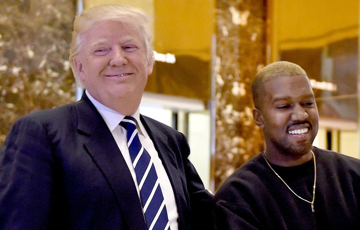 Kanye West a rencontré Donald Trump à la trump Tower de New York, le 13 décembre 2016. – TIMOTHY A. CLARY / AFP