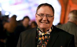 Le directeur artistique de Disney et Pixar, John Lasseter, lors de la première de «Coco», le 8 novembre 2017 à Hollywood.