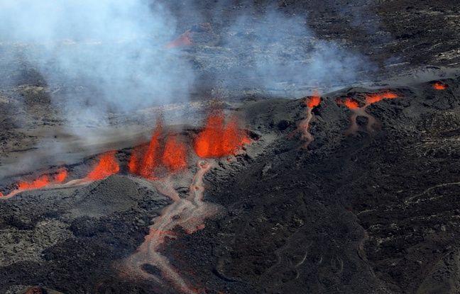 La Réunion: C'est la troisième éruption de l'année pour le Piton de la Fournaise