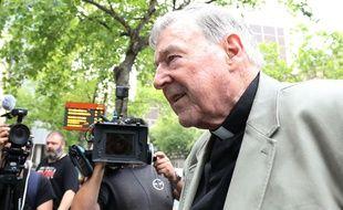 Le cardinal George Pell à Melbourne, le 26 février 2019.