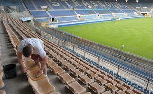 Le stade de la Meinau devrait être rénové dans les quatre ans à venir, selon la volonté des dirigeants du Racing. Illustration