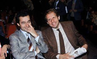 Michel Denisot et Patrick Poivre d'Arvor font le pari d'une chaîne payante: Canal+