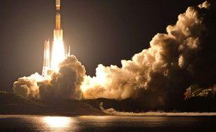 La fusée H-2B transportant le mini ascenseur doit décoller le 11 septembre de la base de Tanegashima (Japon).