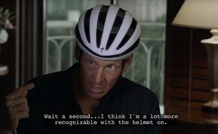 Lance Armstrong est dans le film, oui, oui