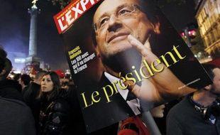 La Une de l'hebdomadaire L'Express, du groupe de presse belge Roularta, en mai 2012