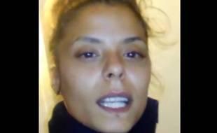 Capture d'écran d'une vidéo postée par Nesrine Mook le 27 juillet 2015 sur Facebook.