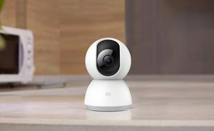 La caméra Mi Home Security 360° vendue moins de 40 euros.