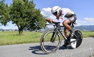 Le coureur colombien Jarlinson Pantano lors du Tour de Suisse 2017.