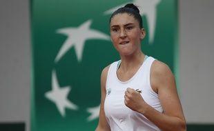 Elsa Jacquemot a remporté Roland-Garros junior, le 10 octobre 2020.