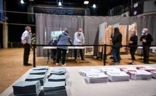 Un bureau de vote en France (illustration).