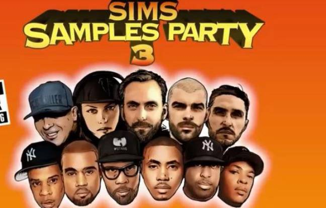 Illustration de figures emblématiques de la scène rap