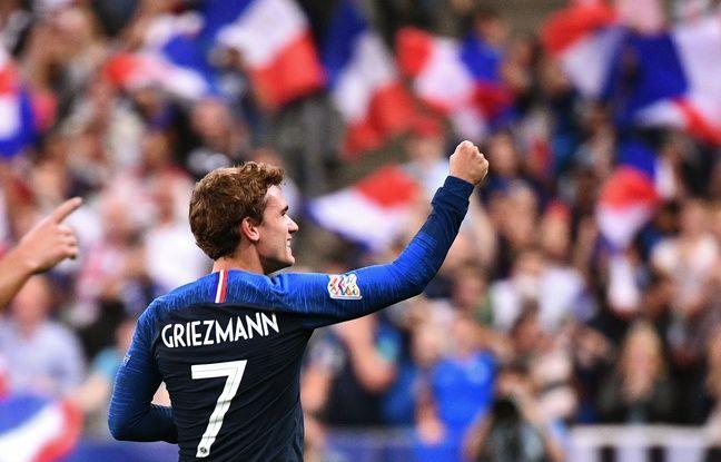 Equipe de France: Après son doublé contre l'Allemagne, Griezmann entre dans le top 10 des meilleurs buteurs français