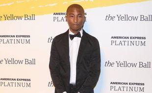Le chanteur et producteur Pharrell Williams
