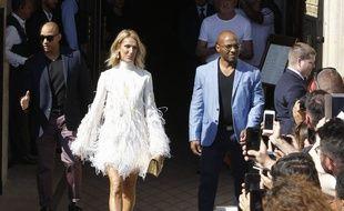 Céline Dion à la Fashion Week Haute Couture à Paris le 3 juillet 2019.
