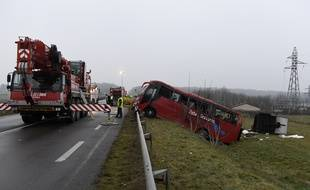 Un accident de bus, survenu le 8 janvier 2017 à proximité du viaduc de Charolles (Saône-et-Loire), a fait plusieurs morts.