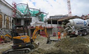 Les travaux se poursuivent en gare de Rennes pour préparer l'arrivée de la LGV et de la ligne B du métro.