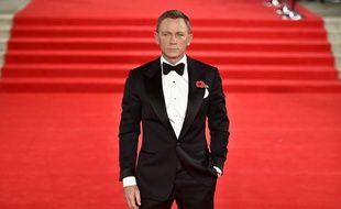Daniel Craig à la première du film «007 Spectre» le 26 octobre 2015 au Royal Albert Hall à Londres.