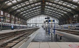 La gare de Lille Flandres, jeudi matin.