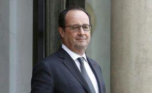 Le président français François Hollande le 24 mai à l'Elysée à Paris