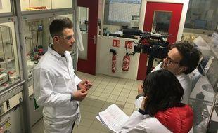 Alsace: Quand un étudiant se donne pour mission de vulgariser la chimie.