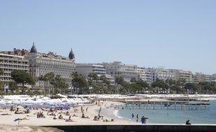 L'accident s'est produit mardi après-midi sur la Croisette, à Cannes.