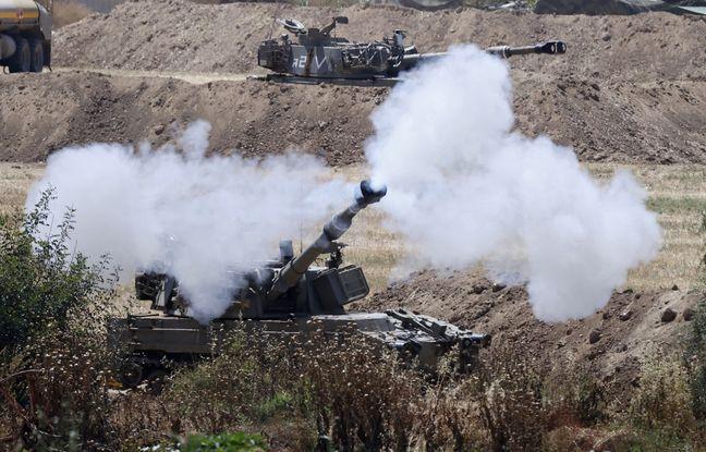 648x415 sderot 16 mai 2021 blinde israelien fait feu bande gaza depuis position abords ville sderot