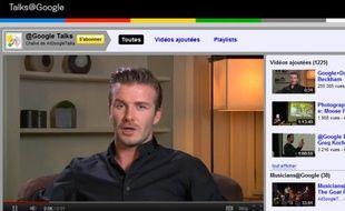 David Beckham répondra aux questions des membres de Google+ le jeudi 19 janvier 2012.