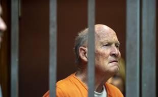 Joseph James DeAngelo, accusé d'être le tueur en série du Golden State, au tribunal à Sacramento, en Californie, le 1er juin 2018.