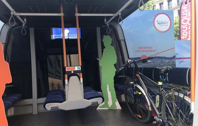 Un aperçu de la cabine du futur téléphérique urbain toulousain.