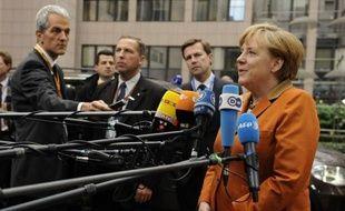 La France et l'Allemagne se dirigeaient jeudi soir vers un compromis sur l'union bancaire, notamment le calendrier de mise en route de la supervision, lors d'un sommet européen qui se tenait sur fond de grogne sociale.