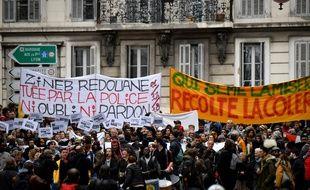 Marche de la colère contre le mal-logement à Marseille le 2 février 2019.