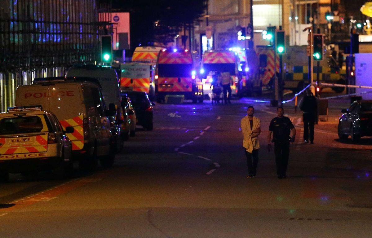 Les alentours de la Manchester Arena, où l'attaque a eu lieu – Seb Beeson/SilverHub